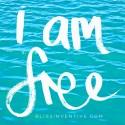 {FREE} 4×6″ printable – 'I am free'
